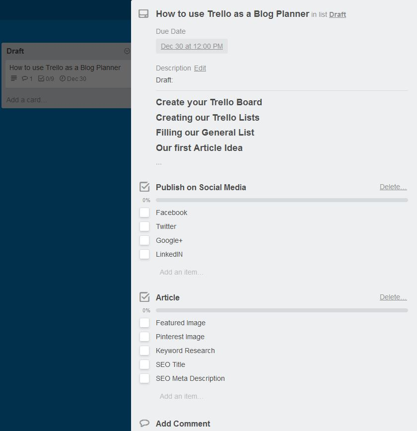 Trello Article Draft