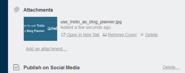 Trello article attachment