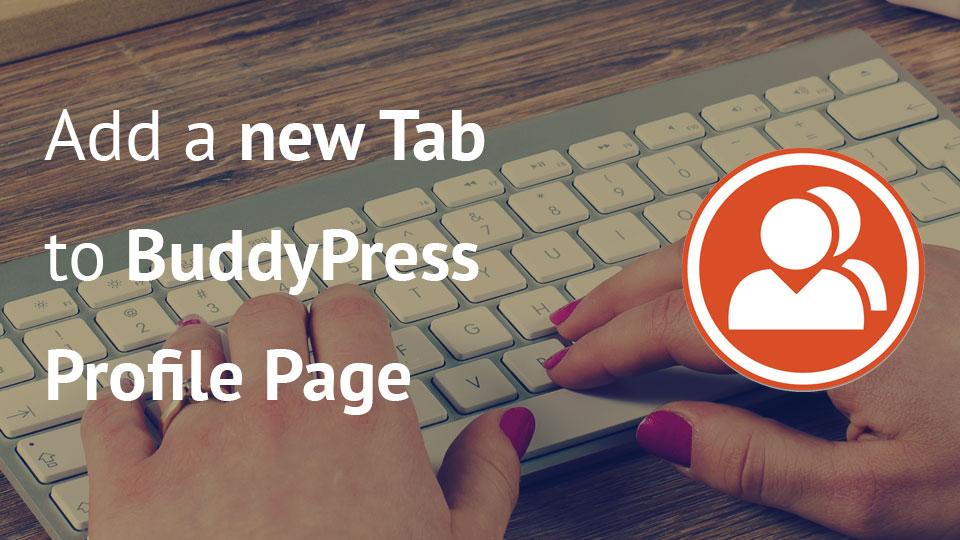 New Tab on BuddyPress Profile Page