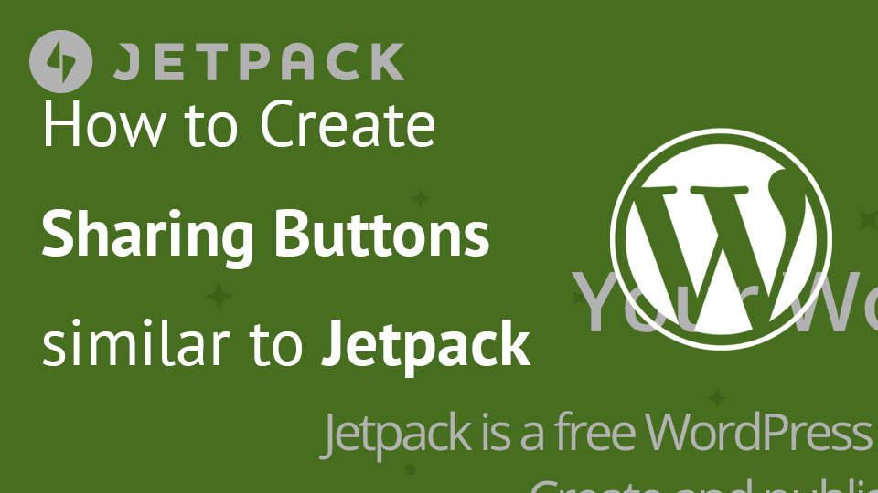 Image for Sharing Buttons similar to Jetpack