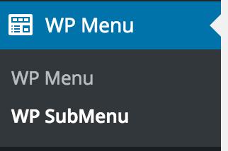 wp how to create menu