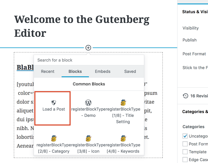 How to create a Gutenberg Block for Displaying a Post - Igor Benić