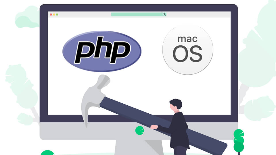 install curl php on mac os x